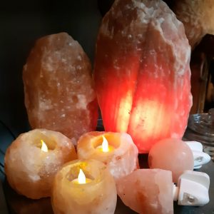 Zoutlampen en Theelichten