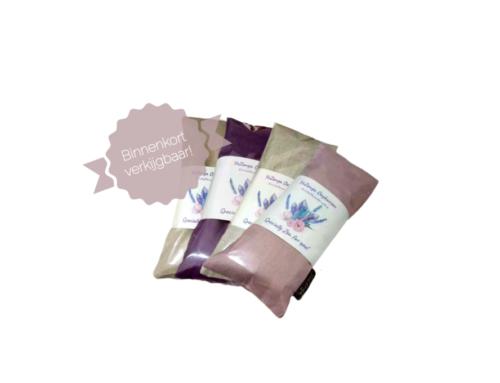 Ontspan je met Edelstenen/Lavendel Oogkussentjes van Yozenga